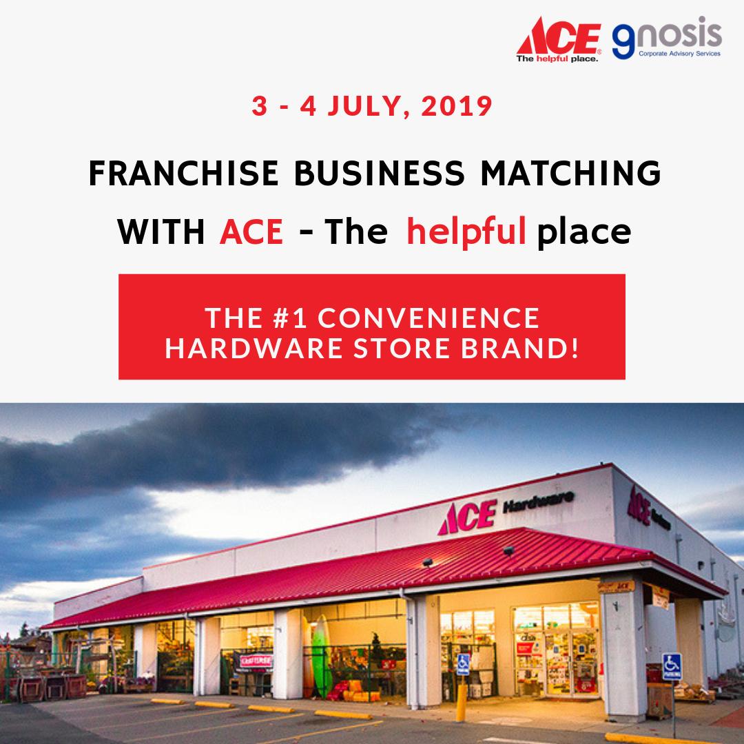 งานจับคู่ธุรกิจ Ace Hardware ในประเทศไทย