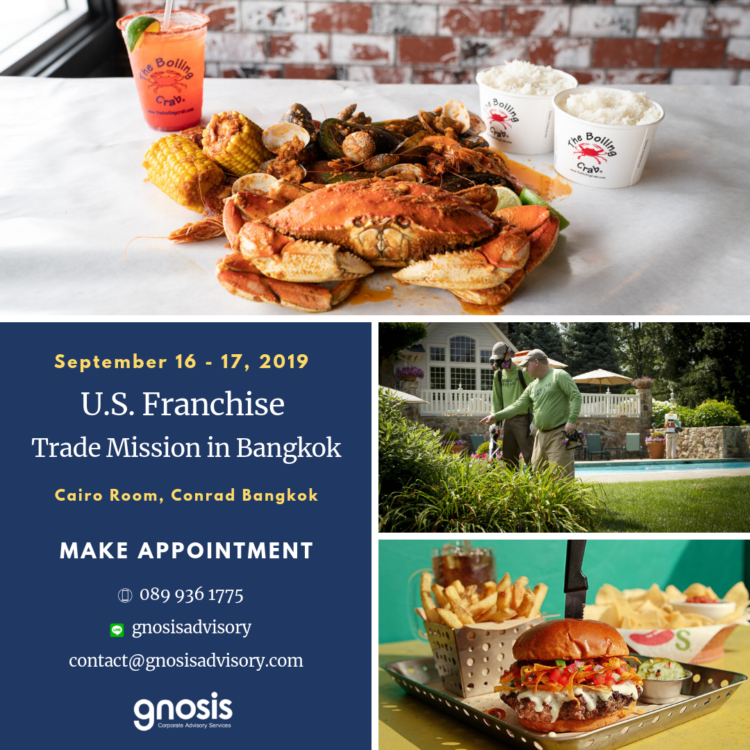 US Franchise Trade Mission in Bangkok 2019