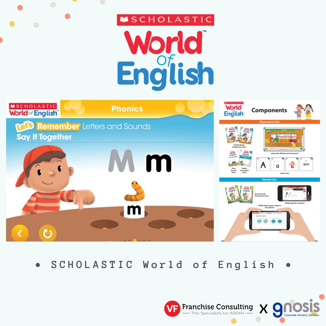 แฟรนไชส์การศึกษา Scholastic World of English