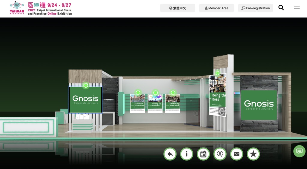Gnosis exhibits in Taiwan Franchise 2021